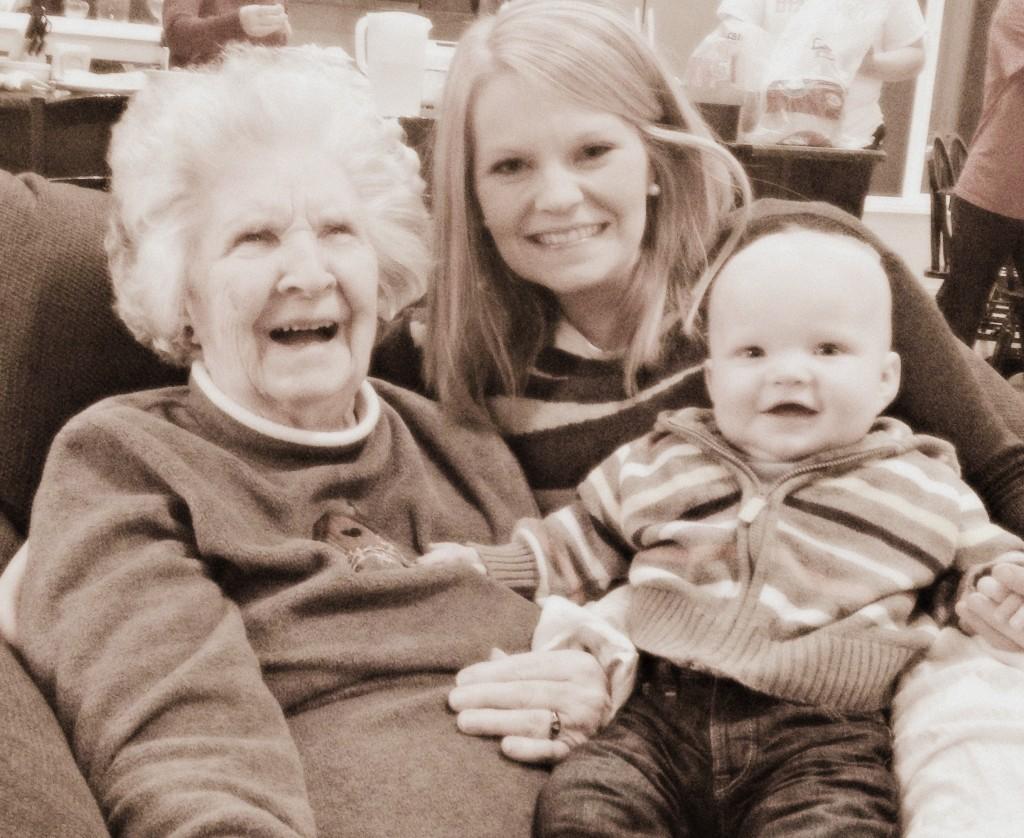 Grandma & Benson
