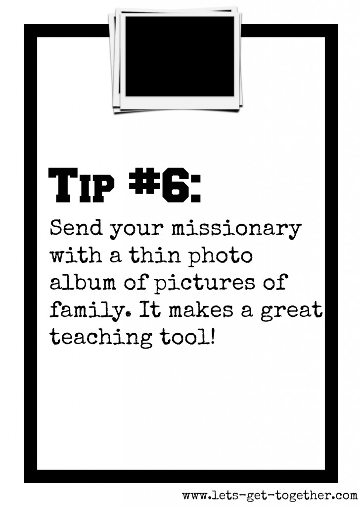 Tip #6: Photo Album