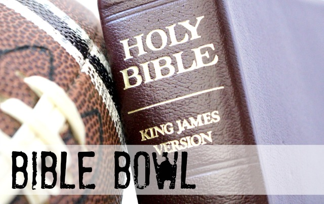 Bible Bowl from Let's Get Together