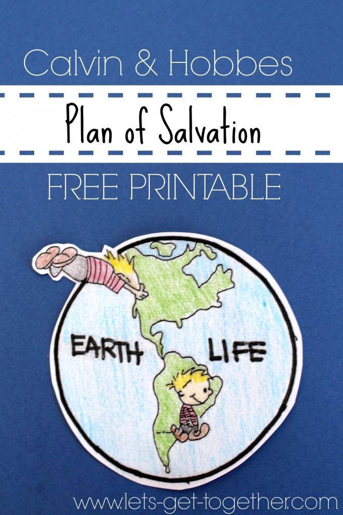 Plan of Salvation {FREE PRINTABLE}