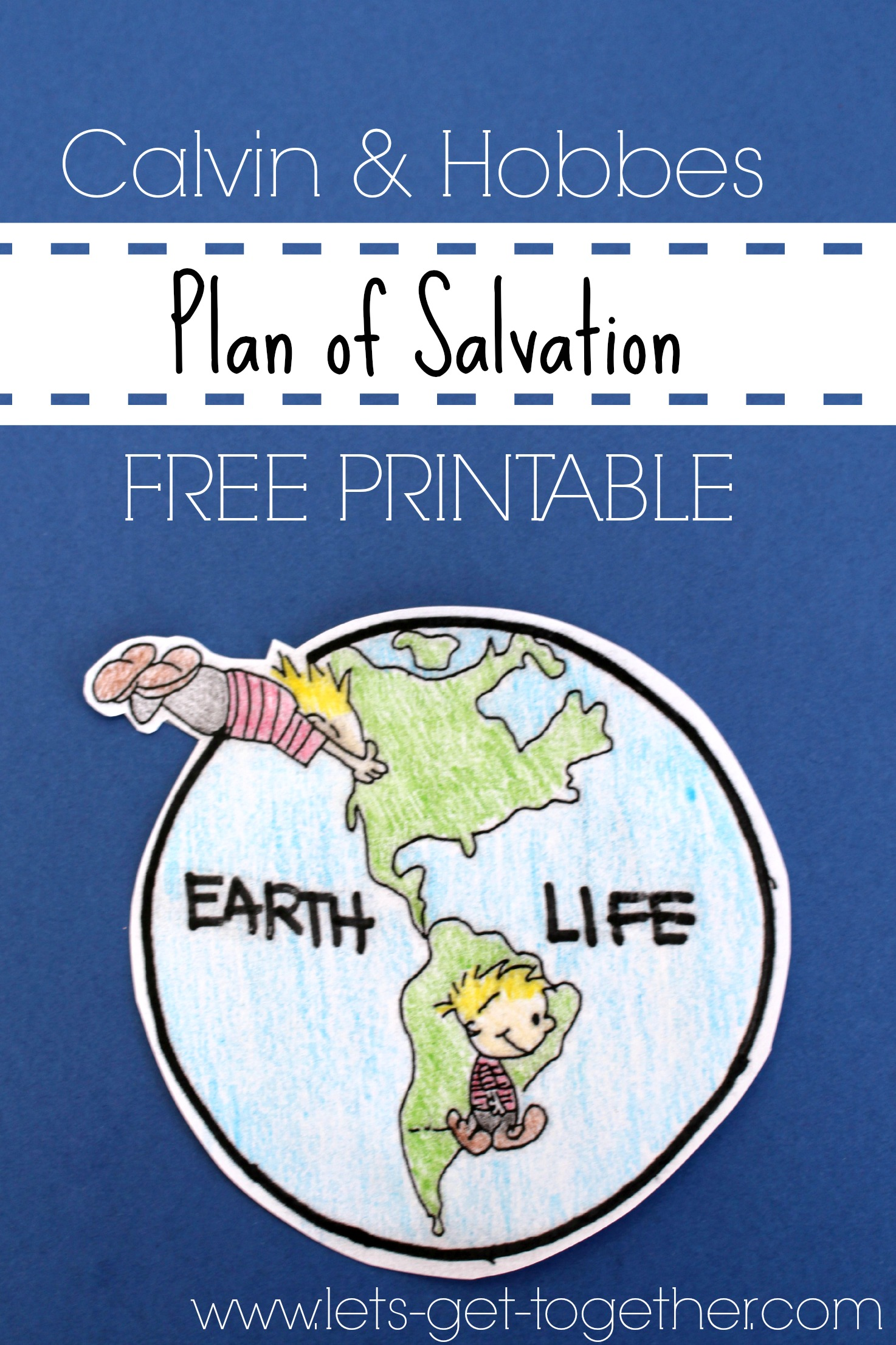 New Plan of Salvation! Great for all ages! - The Red ...