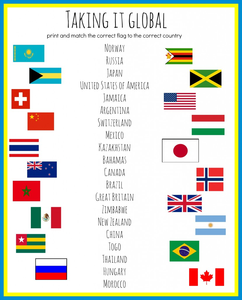 Taking it Global: Flag Identification
