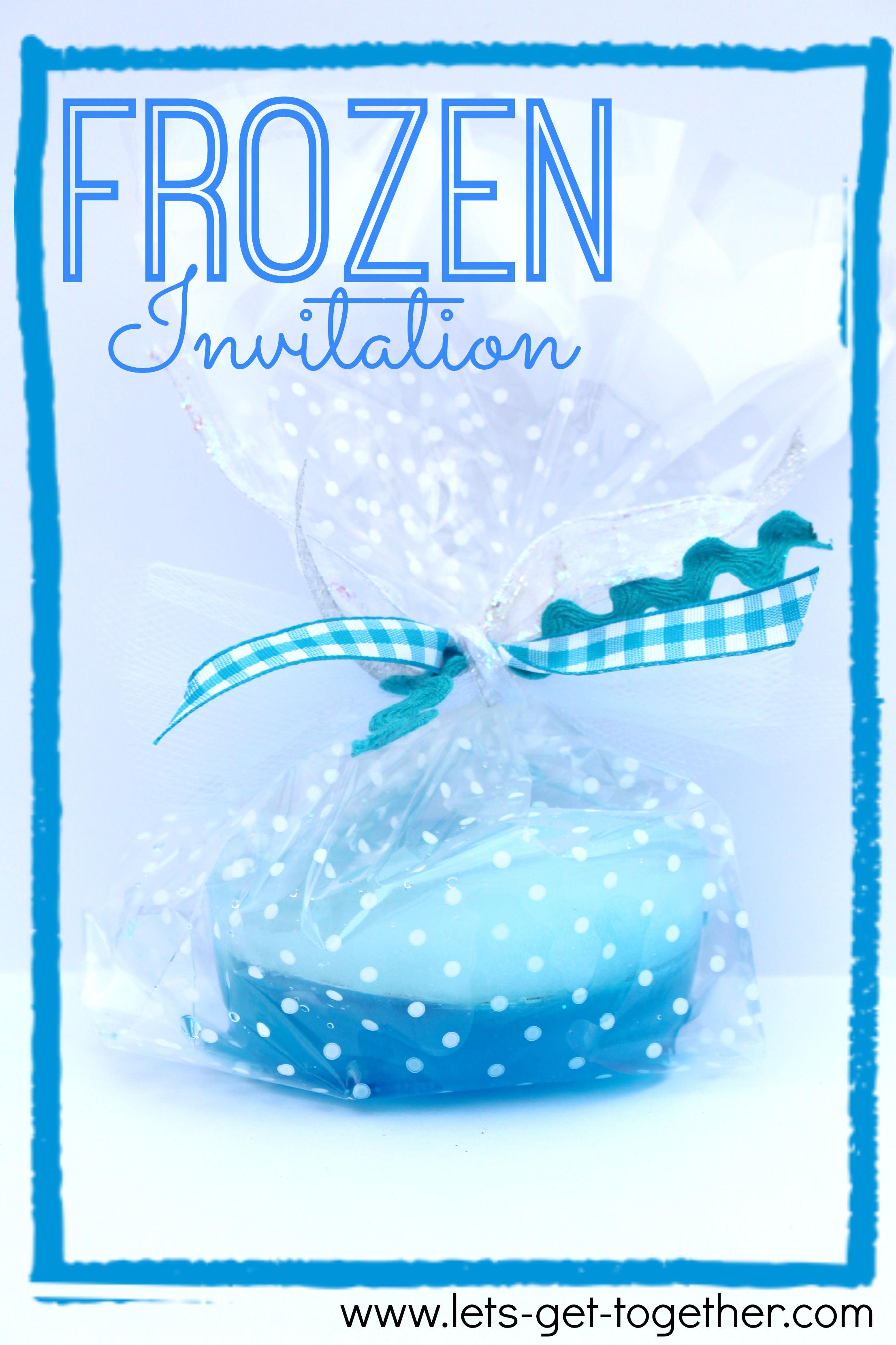 Frozen Party Invitation Wording