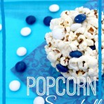 White Chocolate Popcorn Snowballs