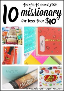 10 Things to Send Your Missionary For Less Than $10