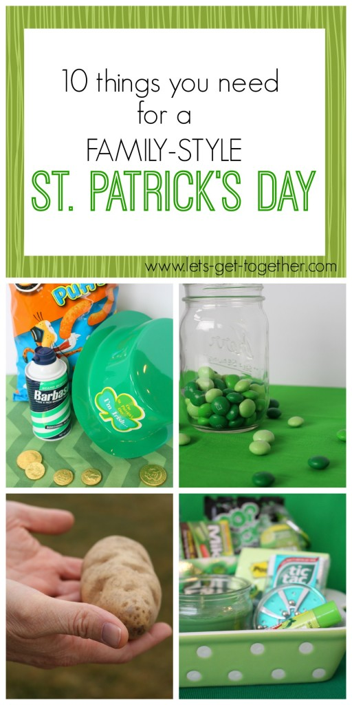 St. Patrick's Day Party from Let's Get Together