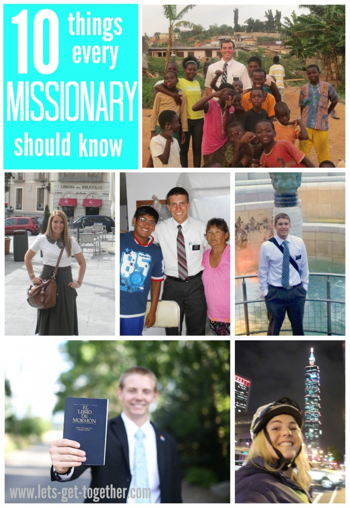 10 Things Every Missionary Should Know