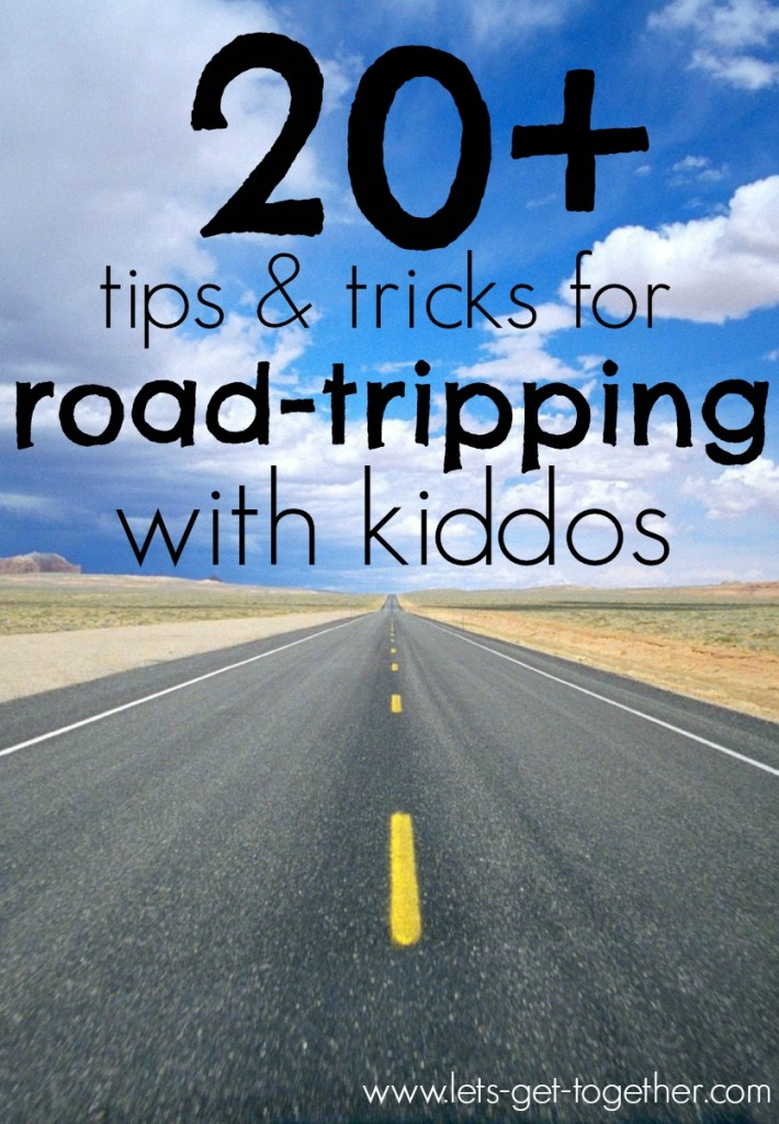 20+ Tips & Tricks for Road-Tripping With Kiddos