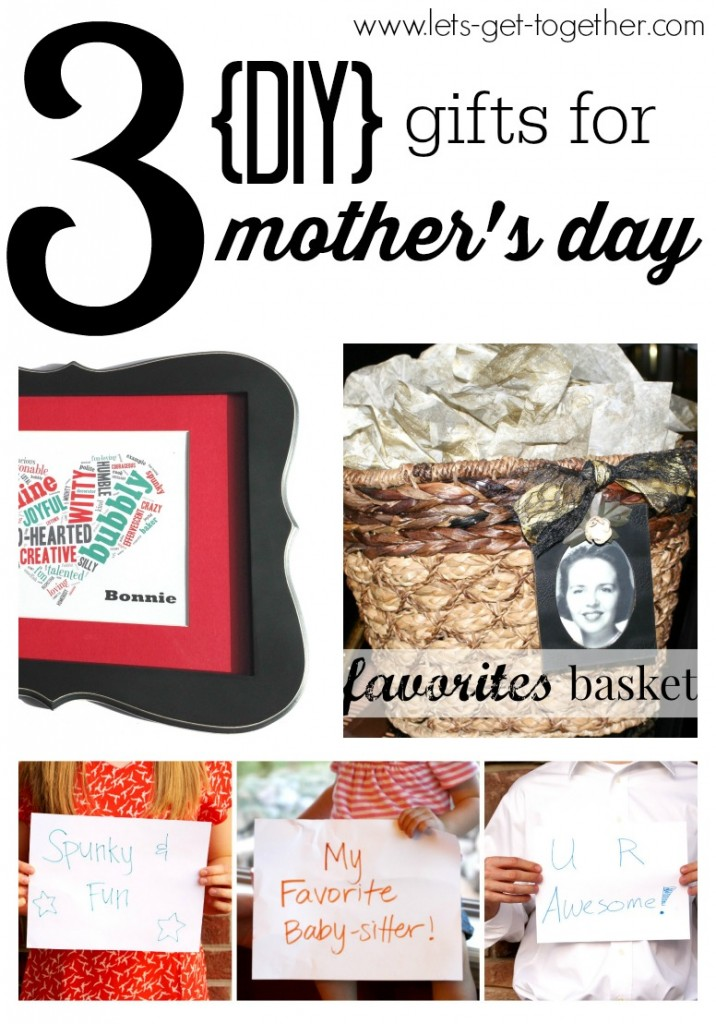 3 Gifts for Mother's Day from Let's Get Together