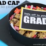 Grad Cap Goodie Plates