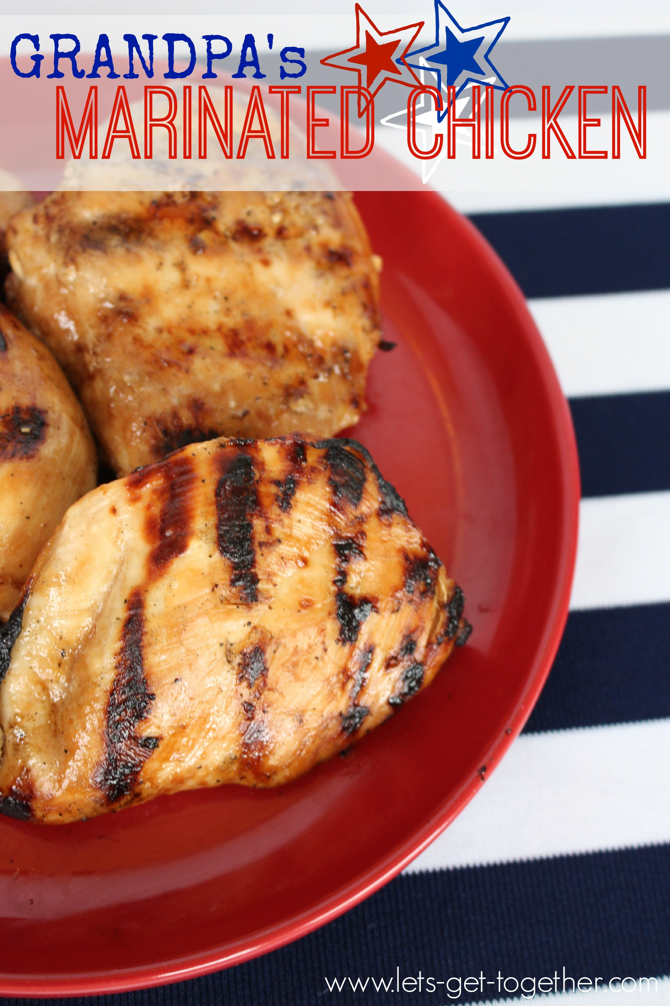 Marinated Chicken from Let's Get Together