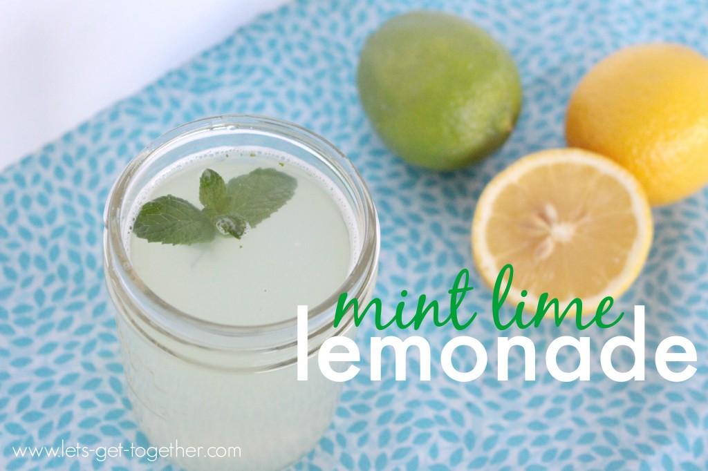 Mint Lime Lemonade from Let's Get Together