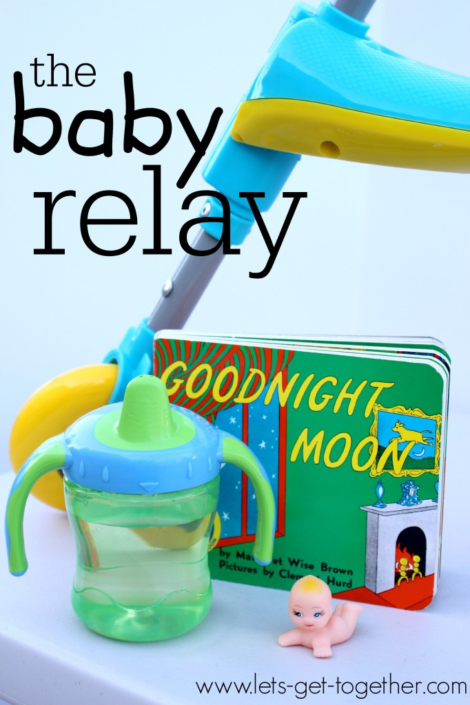 The Baby Relay from Let's Get Together