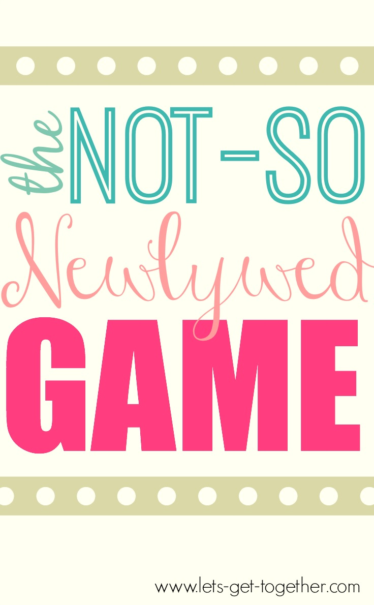 Not-so Newlywed Game Script - Women's Ministry Toolbox