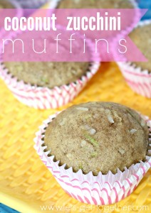 Coconut Zucchini Muffins  Let's Get Together