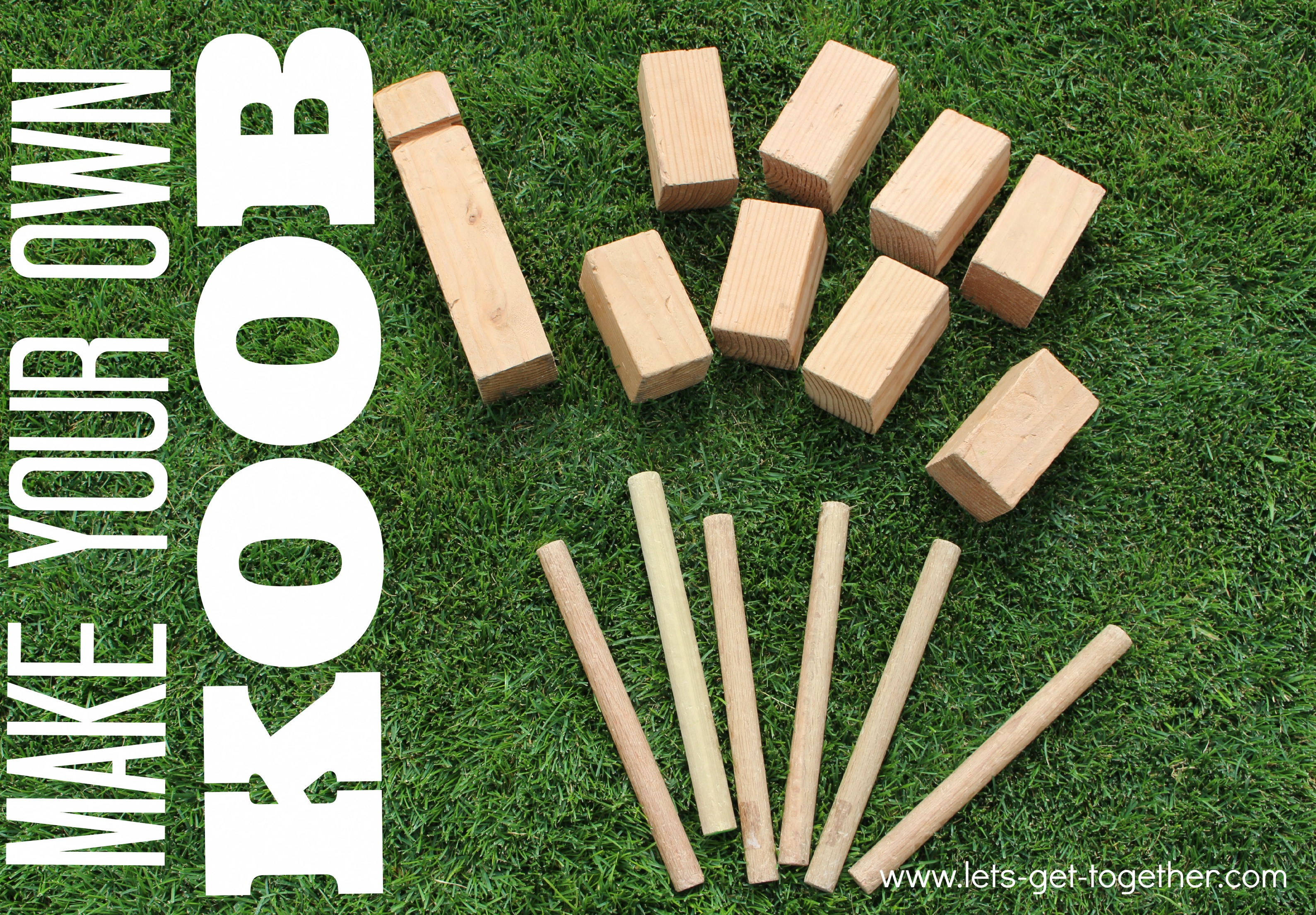 Diy koob the best lawn game ever Homemade games for adults