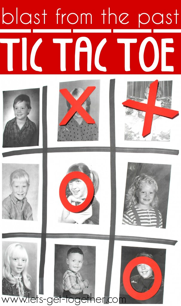 Blast from the Past Tic Tac Toe from Let's Get Together