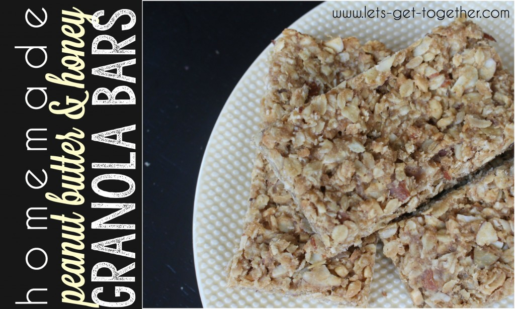 Granola Bars from Let's Get Together