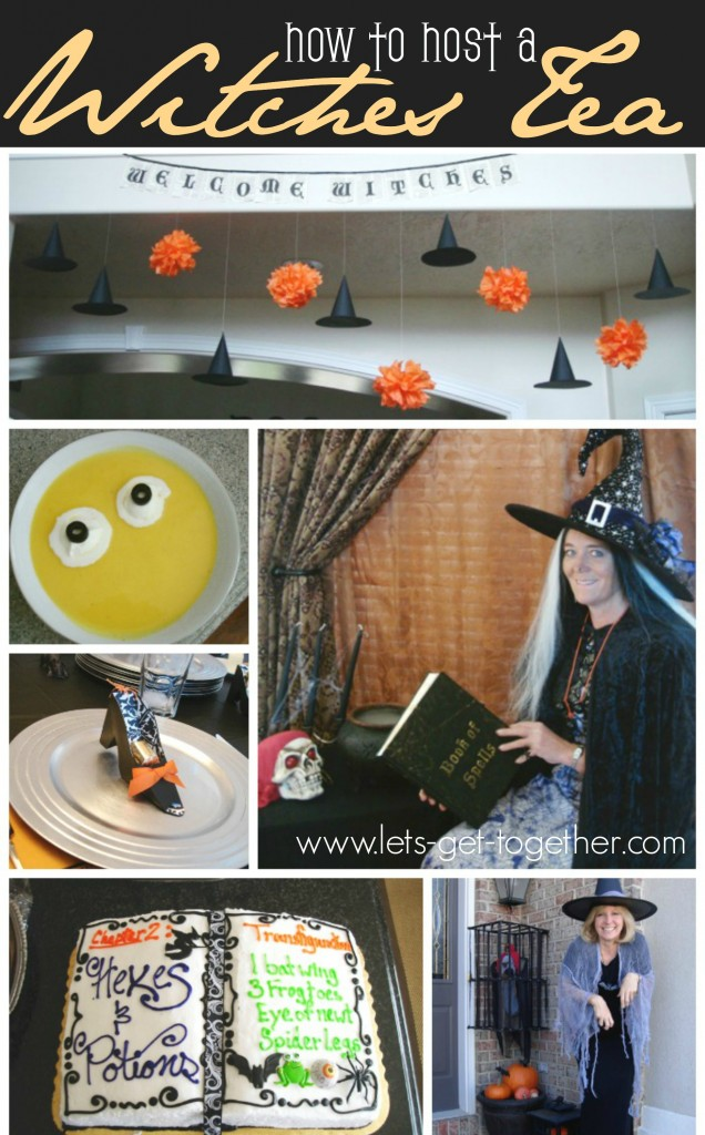 How To Host a Witches Tea from Let's Get Together