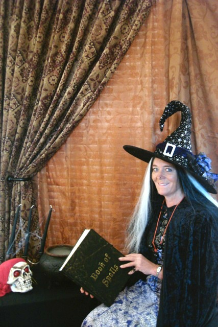 Photo Corner for Witches Tea