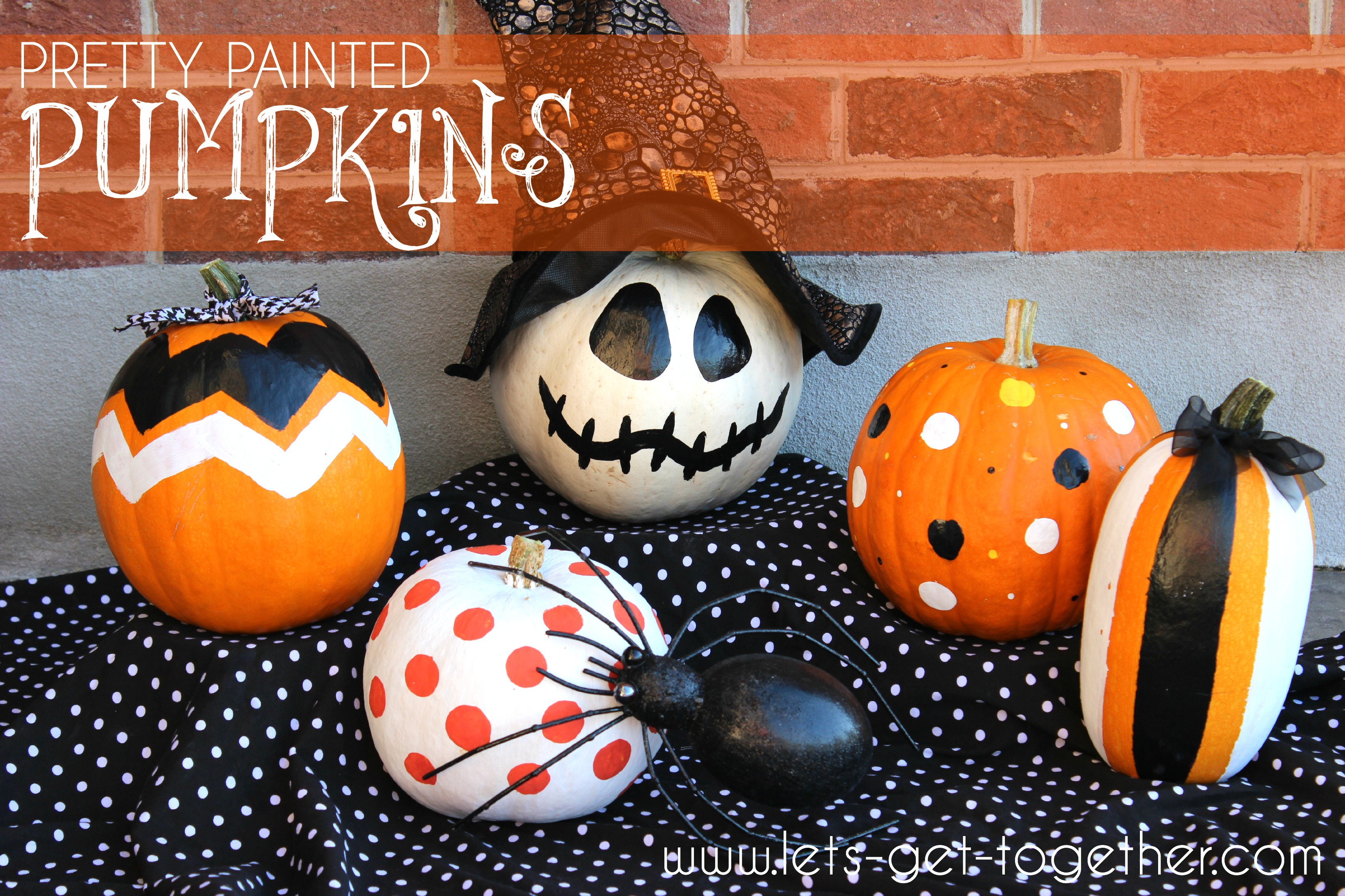 Pretty Painted Pumpkins Images