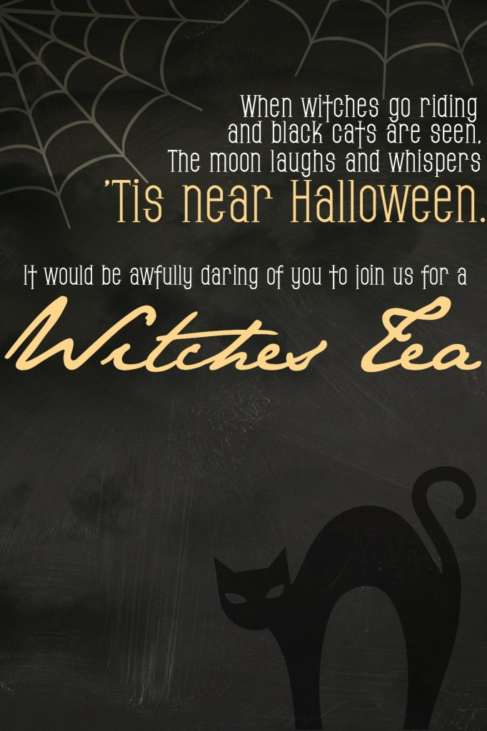 Witches Tea Invite - EDIT