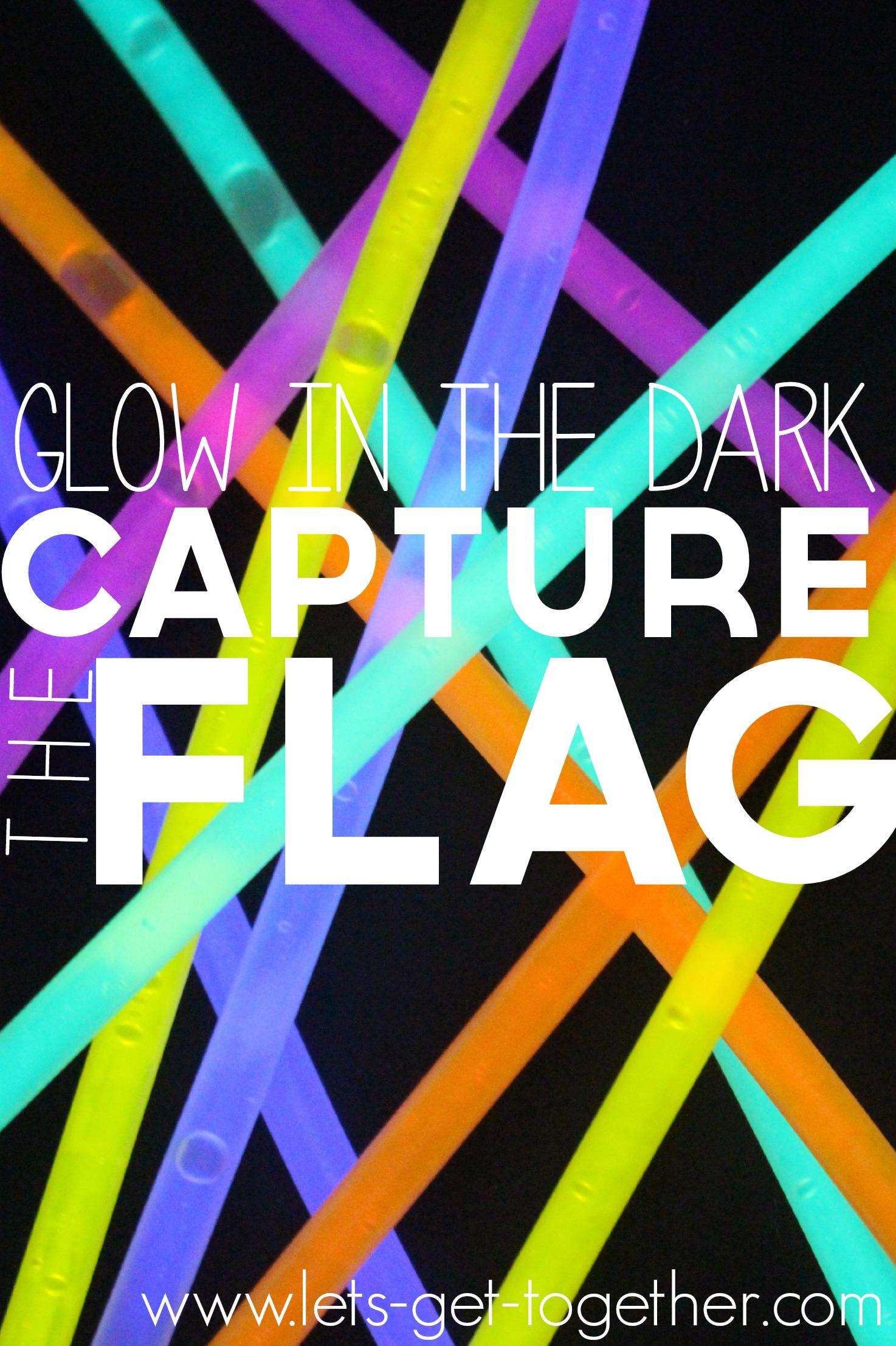 glow in the dark capture the flag. Black Bedroom Furniture Sets. Home Design Ideas