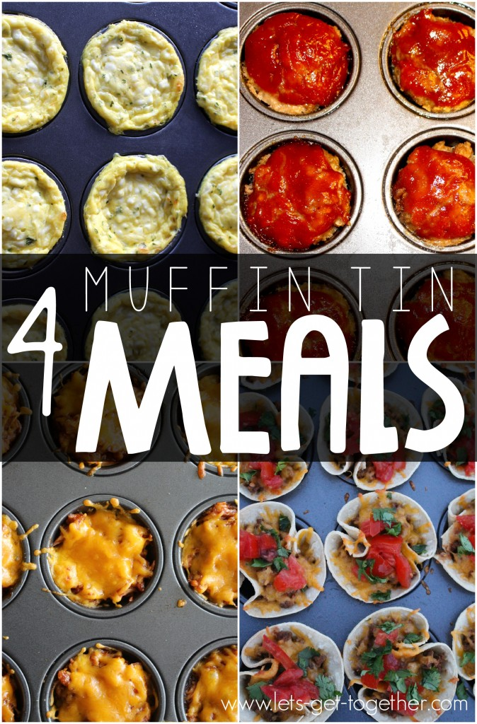 4 Muffin Tin Meals from Let's Get Together