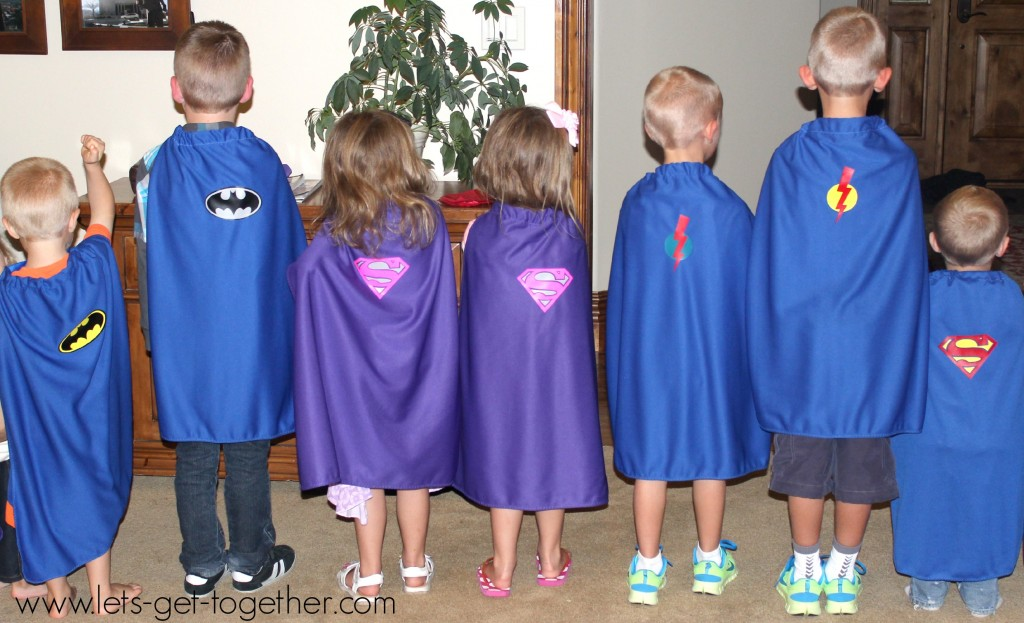 Capes Party Favor from Let's Get Together