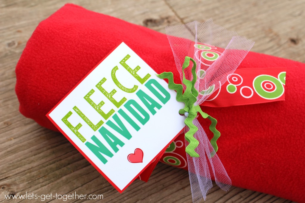 Fleece Blanket Neighbor Gift