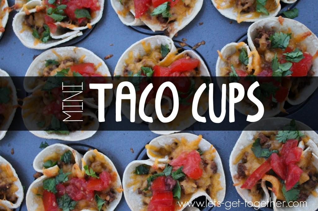 Muffin Tin Taco Cups