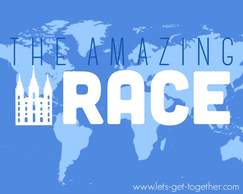 The Amazing Race Temple Edition