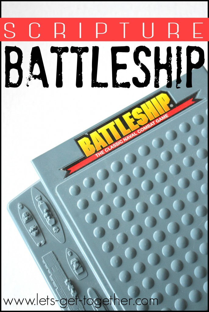 Scripture Battleship from Let's Get Together