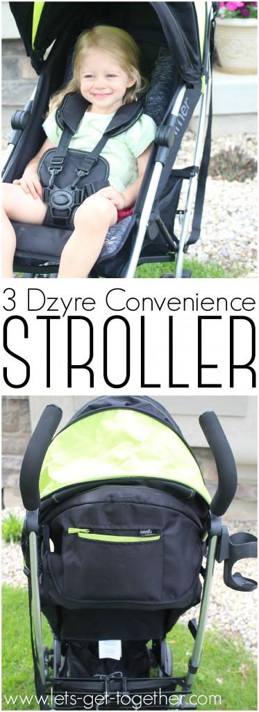 3 Dzyre Convenience Stroller