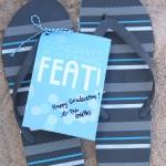 Flip Flop Grad Gift {FREE PRINTABLE!}