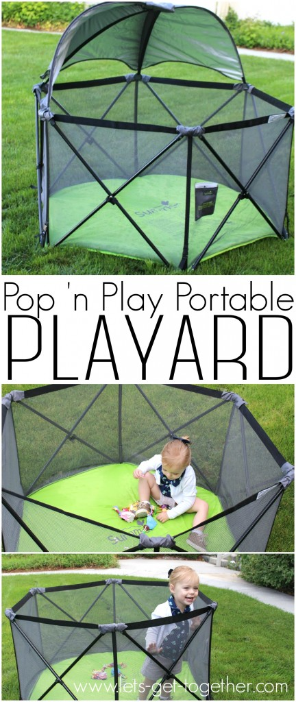 Pop 'n Play Portable Playard