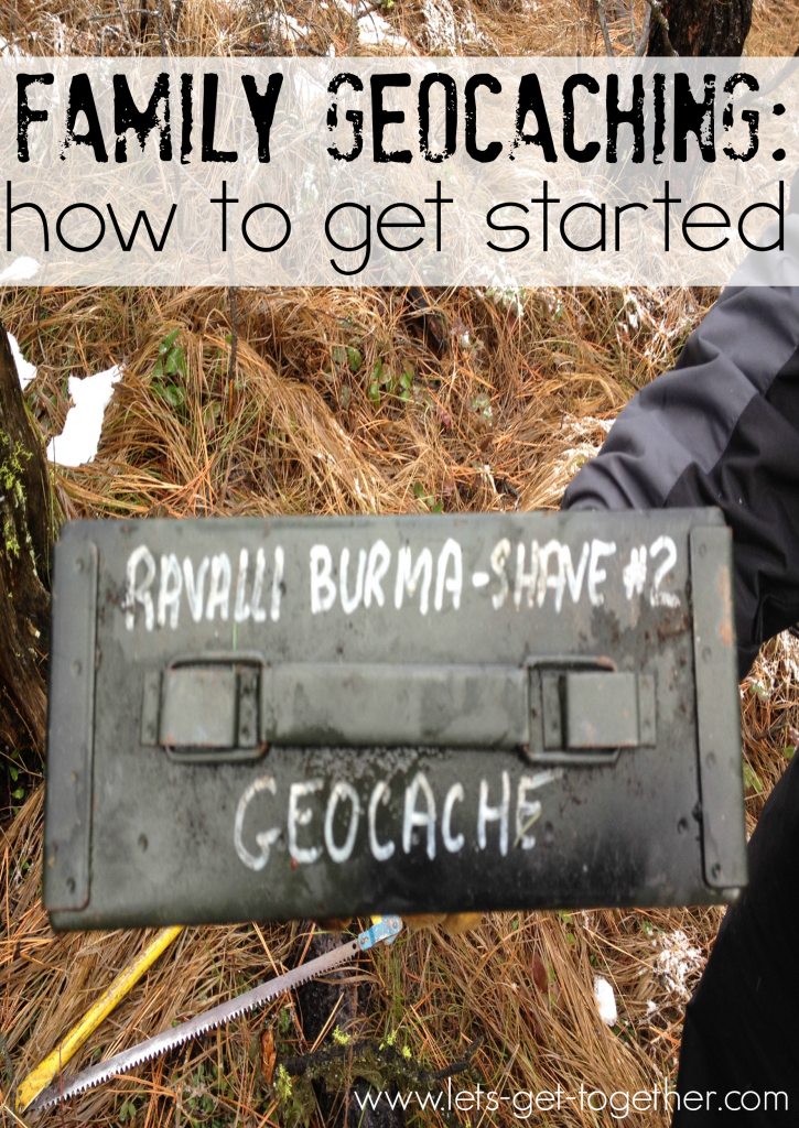 Family Geocaching How to Get Started
