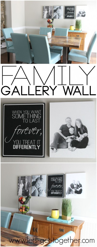 Family Gallery Wall from Let's Get Together