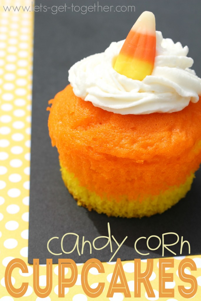 Candy Corn CupcakesLet's Get Together