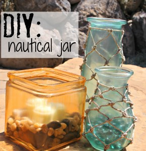 DIY: Nautical Jar