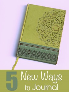 5 New Ways to Journal