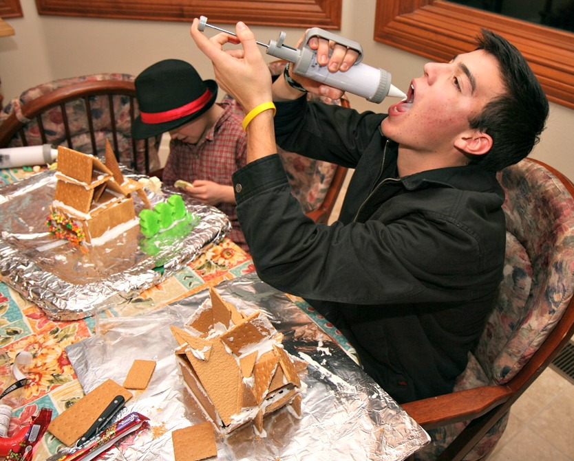 Gingerbread houses - Chris
