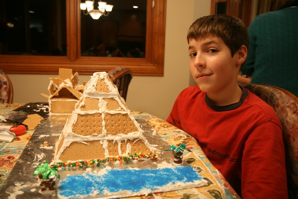 Gingerbread houses - Josh 2 (1)