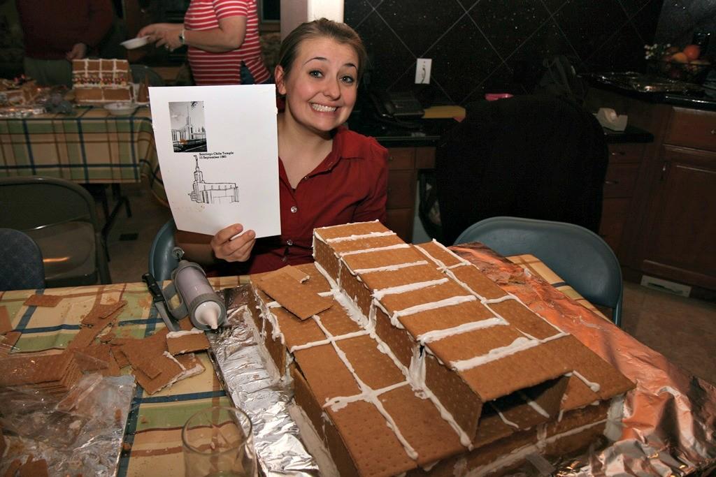 Gingerbread houses - Niki
