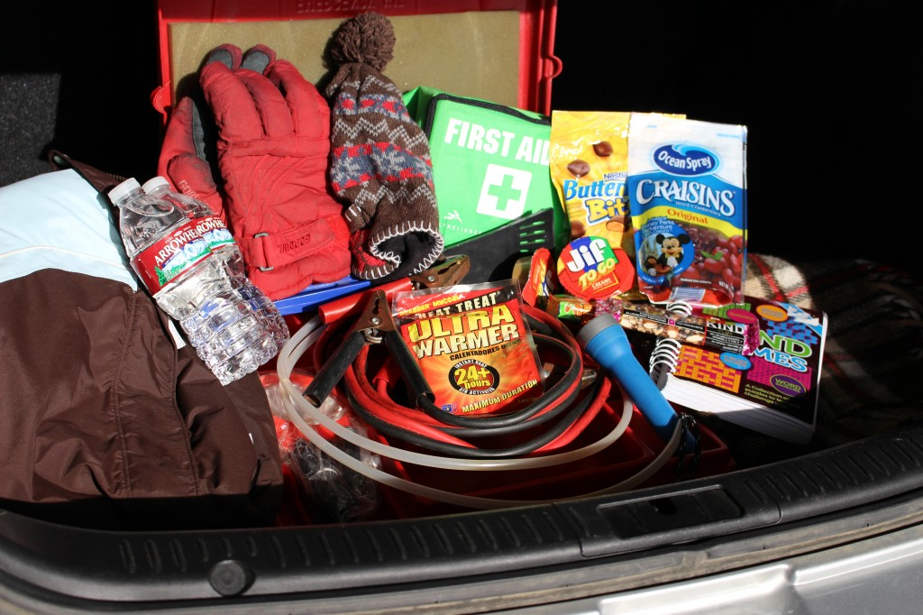 Emergency Items for the Car