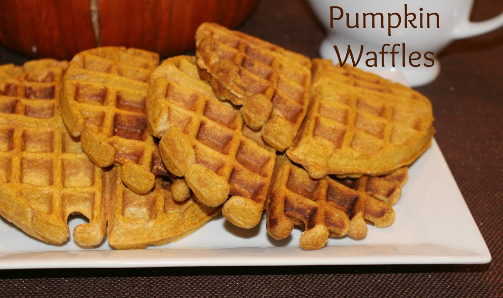 Pumpkin Waffles from Let's Get Together