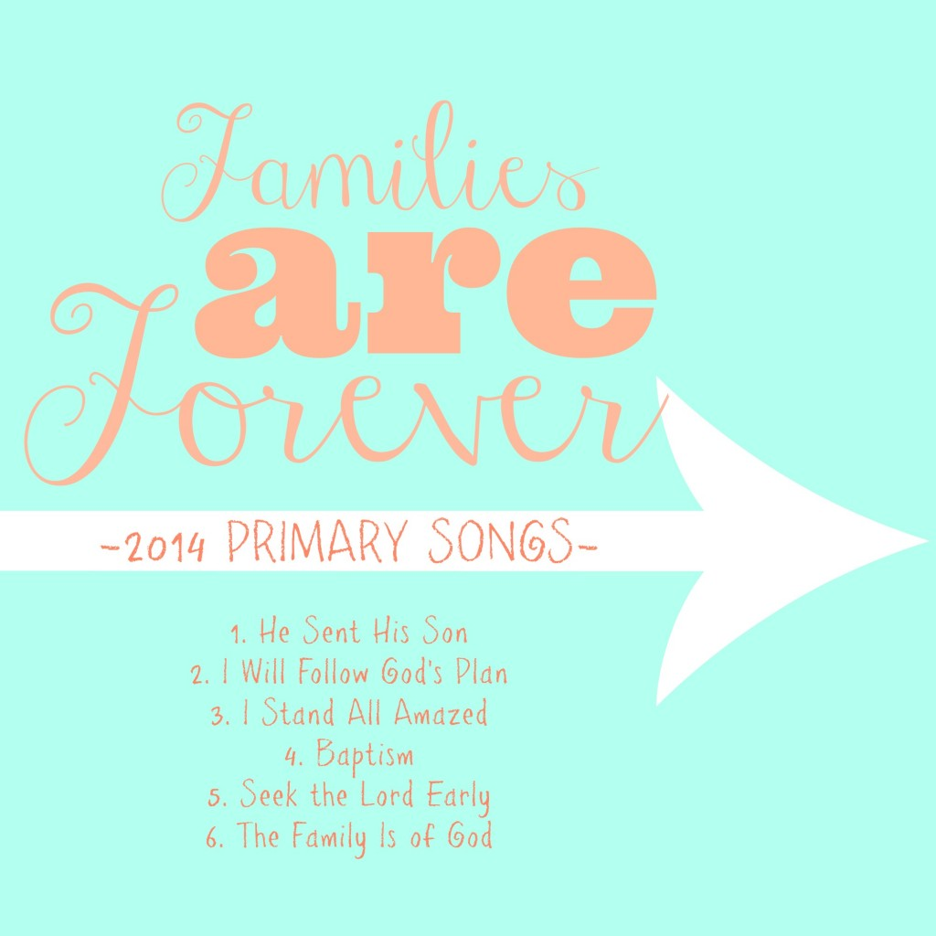 Primary 2014 CD Cover-FREE PRINTABLE