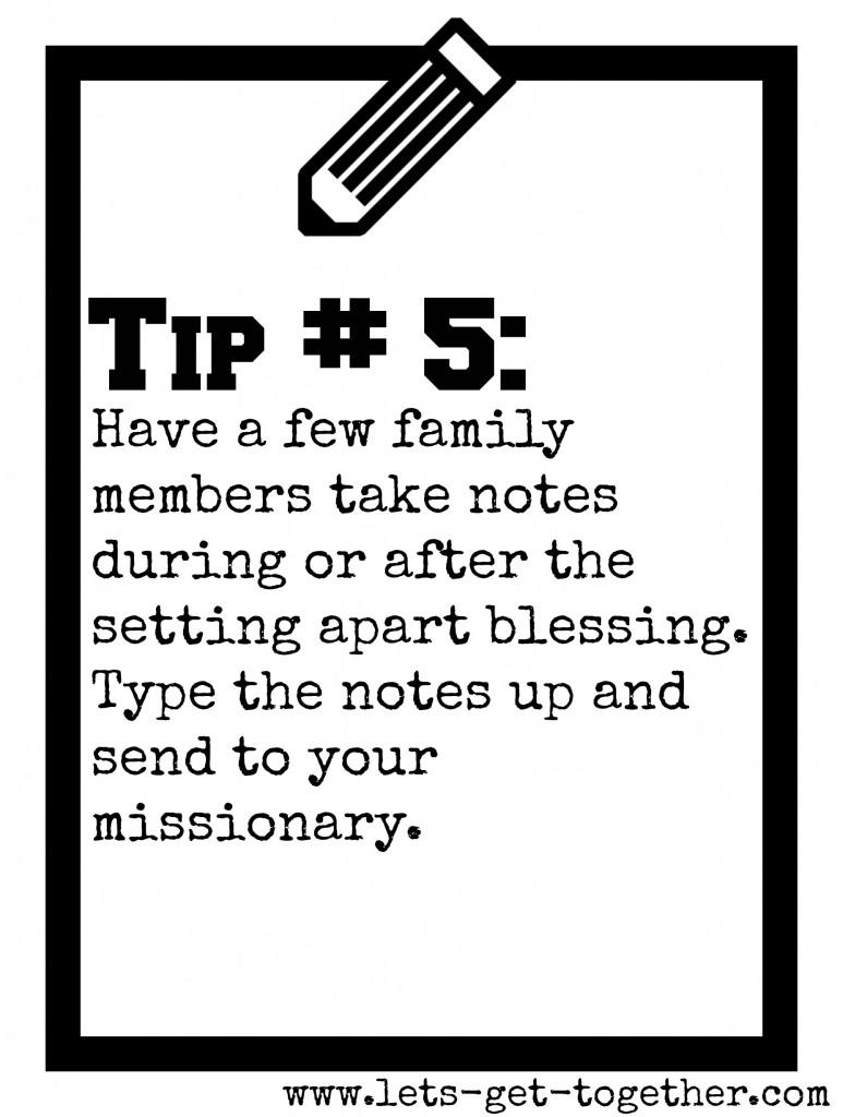 Tip #5: Take Notes