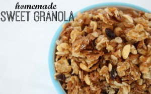 Homemade Sweet Granola