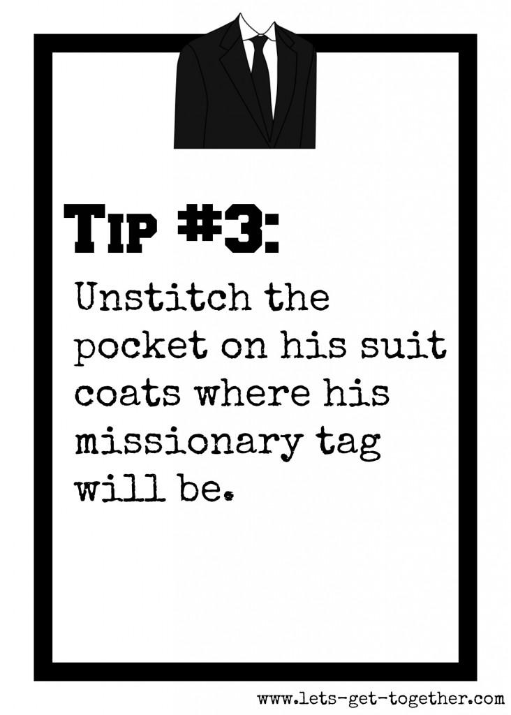 Tip #3: Unstitch Pocket
